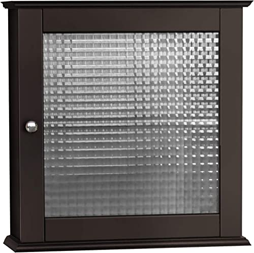 Elegant Home Fashions Chesterfield Wall Mounted Medicine Cabinet Bathroom Home Storage Space Saver