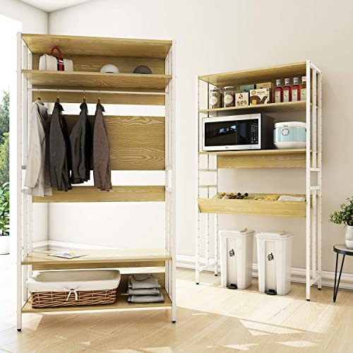 FRSTONE 5-Tier Bookcase