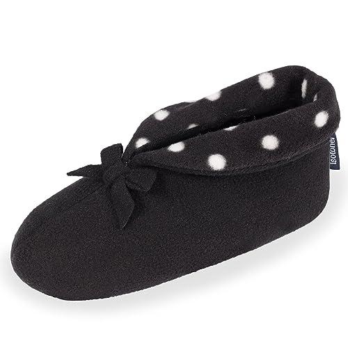 Botines de casa para mujer Isotoner 39/40: Amazon.es: Zapatos y complementos