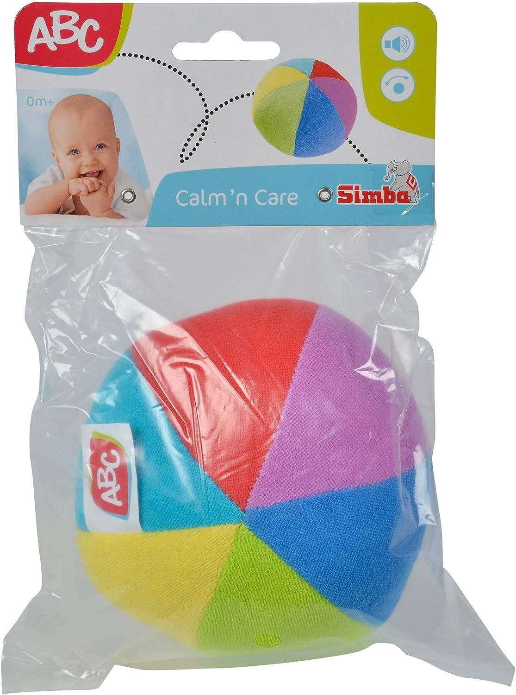 Simba ABC - Pelota sonajero Dickie 4011720: Amazon.es: Juguetes y ...