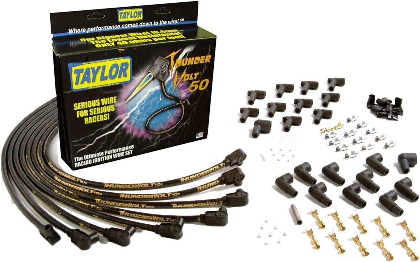 Taylor 98051 ThunderVolt 90/° Universal Fit Ignition Wire Set