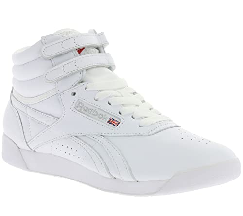 f9a65e9a5e9c Sneaker Reebok Freestyle HI White  Amazon.co.uk  Shoes   Bags