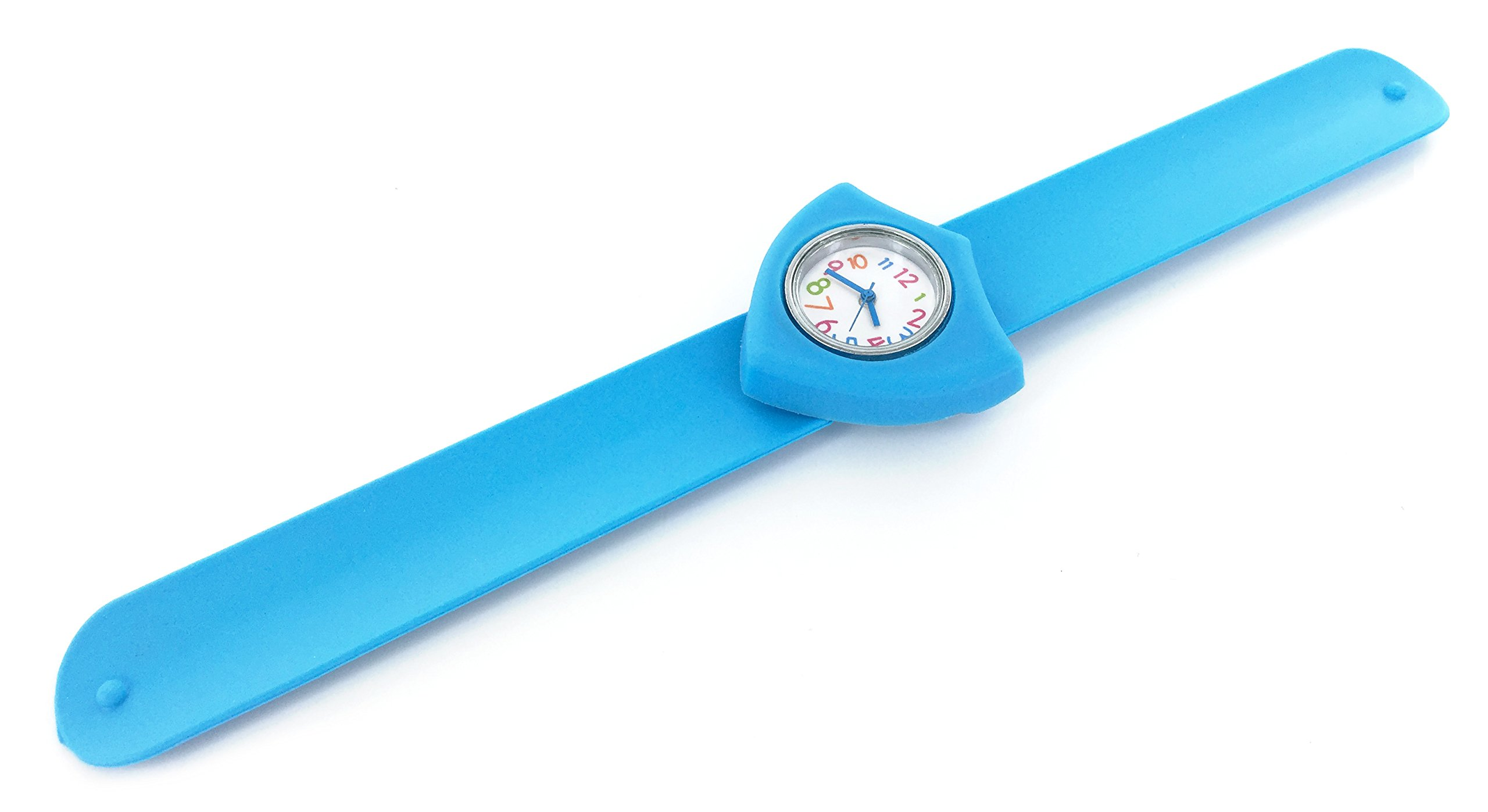 Silicone CTR Shield Slap Watch - Blue - Choose the Right by Pioneer Plus (Image #2)