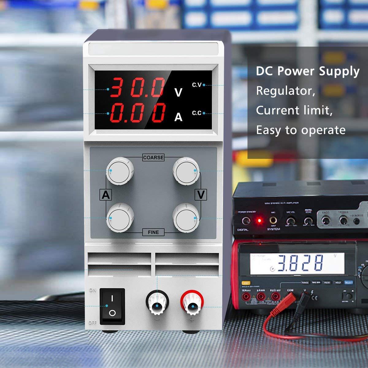 DC Power Supply Variable Doris Direct 0-30V 0-10A Adjustable DC
