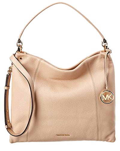 6019e453bb90a0 Image Unavailable. Image not available for. Color: Michael Michael Kors Lex  Large Leather Hobo Bag