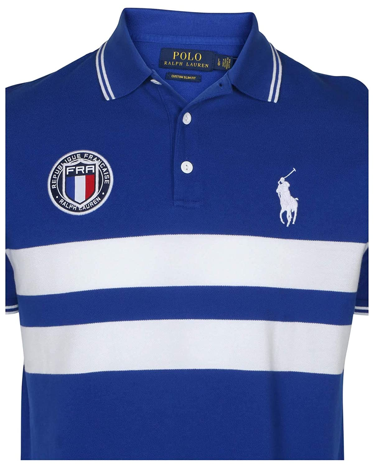 79b14e88d Polo Ralph Lauren Men s Custom Slim Fit Country Polo Shirt at Amazon Men s  Clothing store