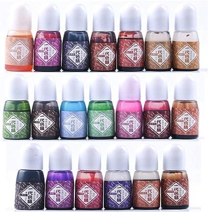 Pigmento de resina AIUI 20 colores epoxi y resina UV pigmento ...