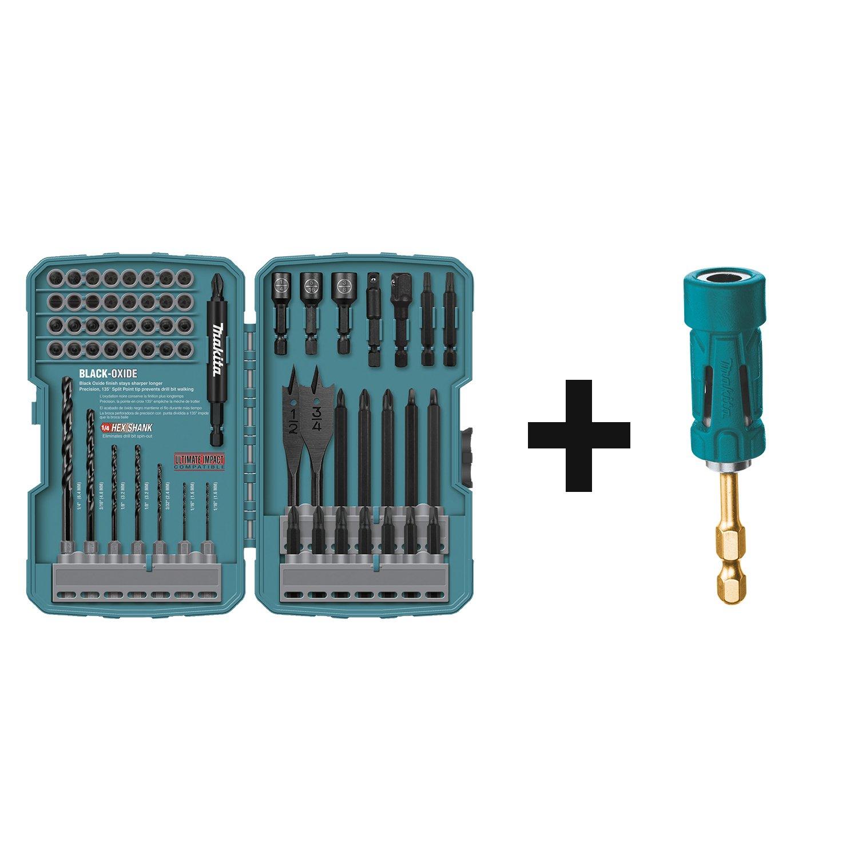 Makita T-01725 Contractor-Grade Bit Set, 70-Pc - Jobber Drill Bits ...