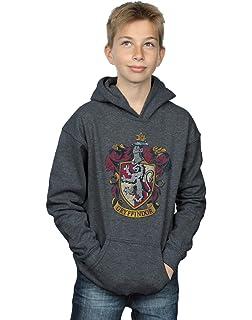 Harry Potter Fille Neon Hogwarts Crest Sweat /À Capuche Absolute Cult