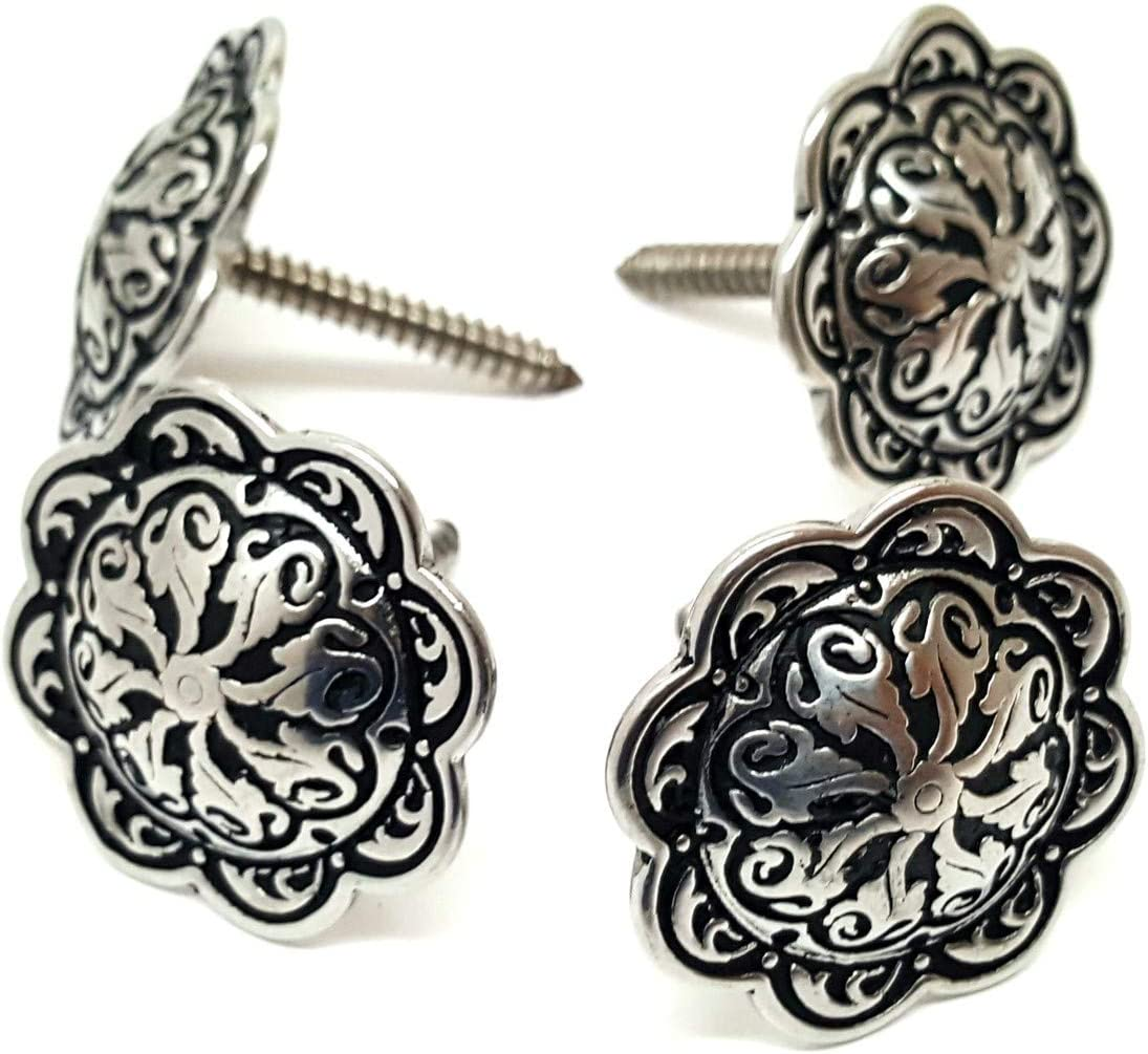 """United States of America USA Lot of 2 Conchos with Screws 1 1//2/"""" Wide"""
