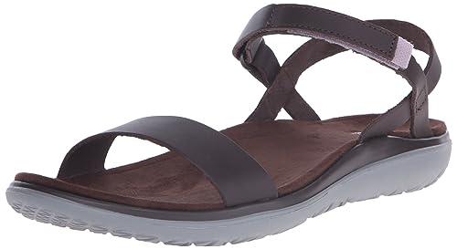 Teva de Las Mujeres Terra-Nova Lux Flotador de la Sandalia, Brown, 40 B(M) EU: Amazon.es: Zapatos y complementos