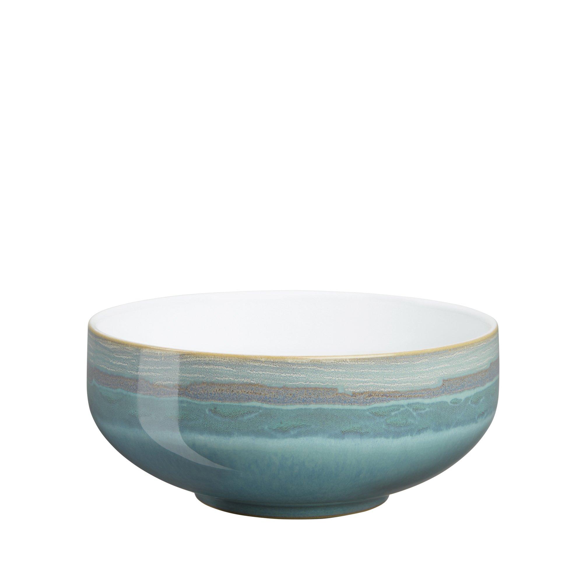 Denby Azure Coast Soup/Cereal Bowls, Set of 4