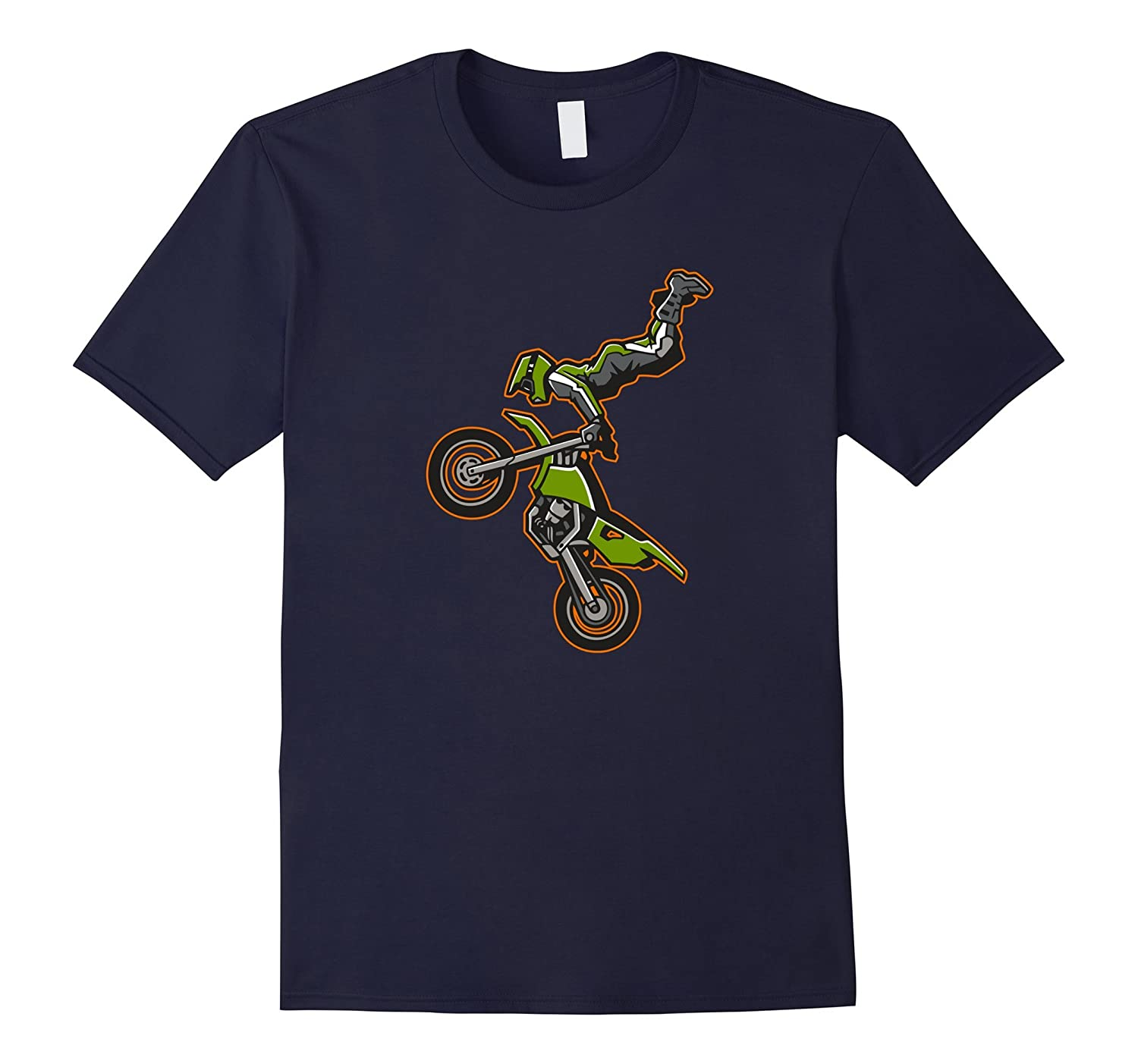 Cool Dirt Bikes Biker Gifts DirtBiking T-shirt Mens-TJ