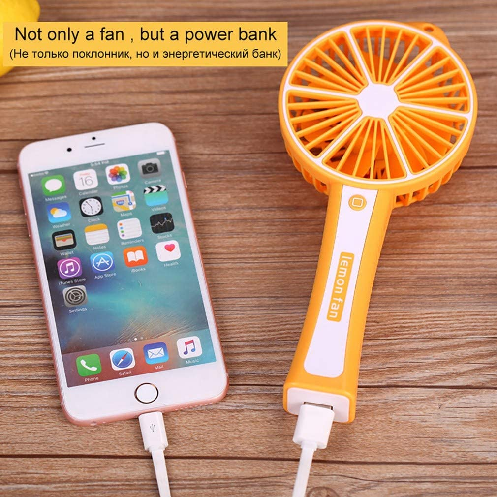GYTOO Mini Fan Travel Fan with Portable USB Rechargeable Battery Operated Personal Laptop Cooling Fan for Office//Home//Travel//Outdoor