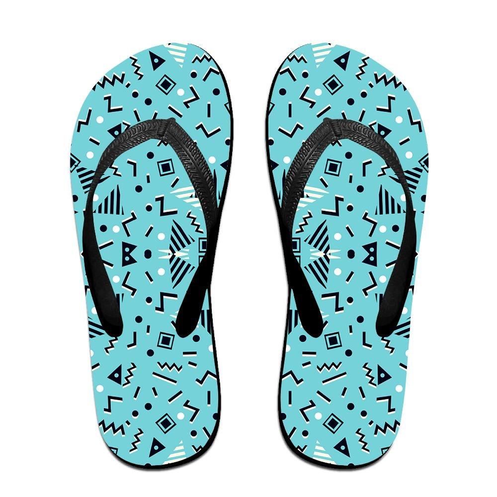 Unisex Summer Beach Slippers Back Lines Flip-Flop Flat Home Thong Sandal Shoes