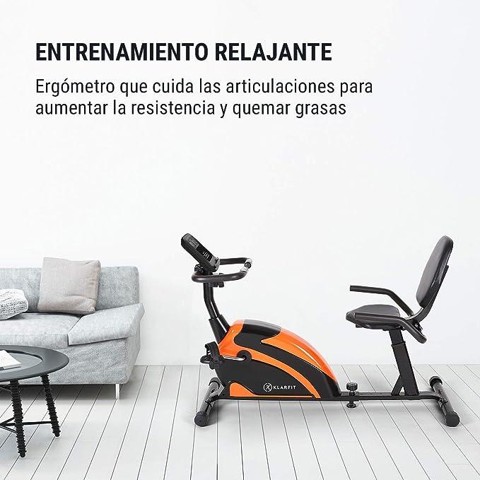 KLAR FIT Relaxbike 6.0 SE Bicicleta reclinada - Bicicleta estática ...