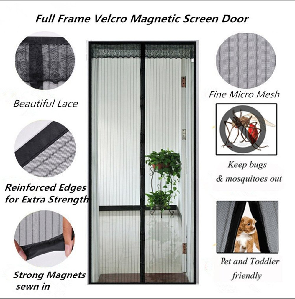Magnetic Screen Door Premium Quality Magnetic Mesh Screen Door