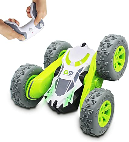 RC Cars for Kids 4WD Off Road Truck Remote Control Car 360 Degree Rolling