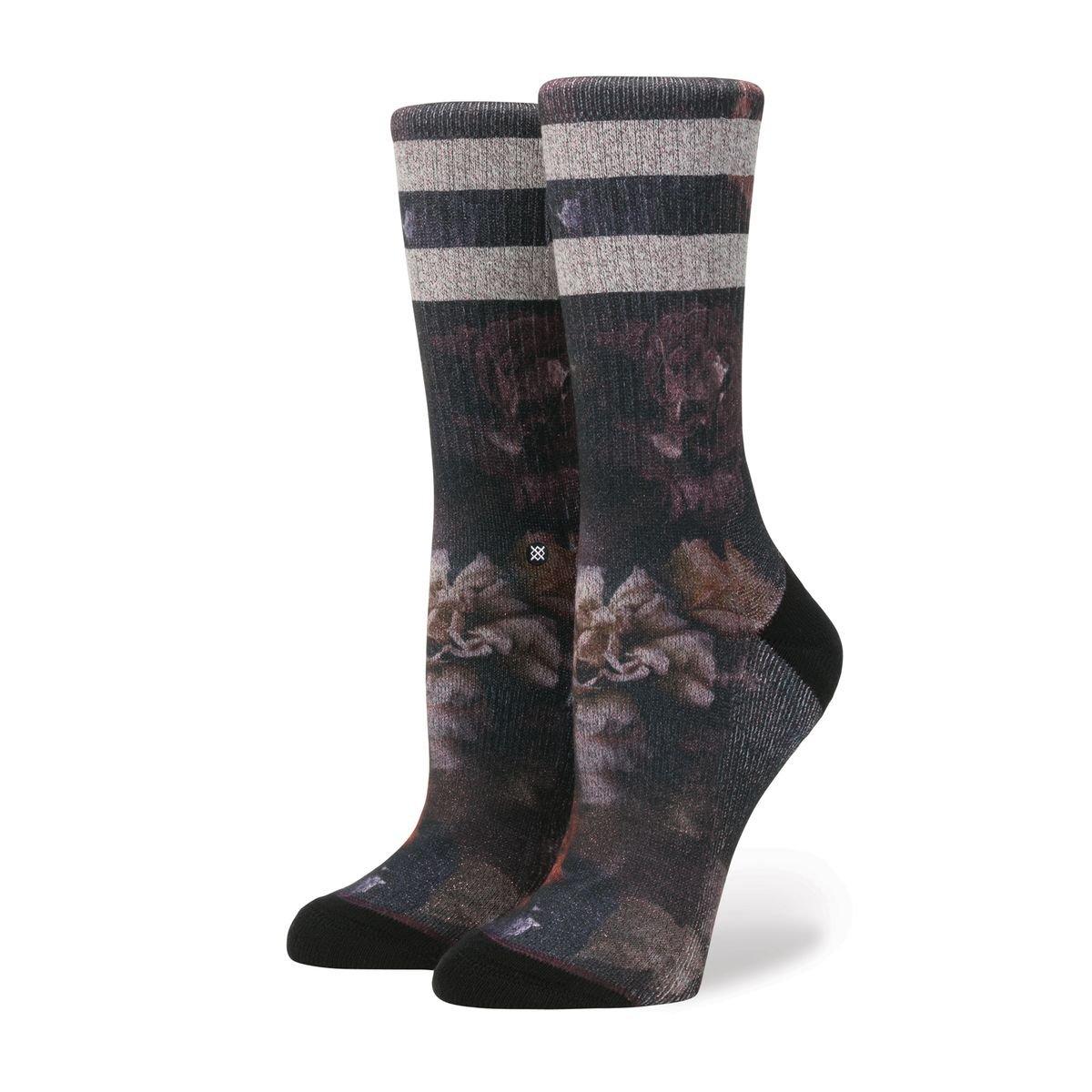 Stance Women's Dark Blooms Socks W556D17DAR-BLK-S-A