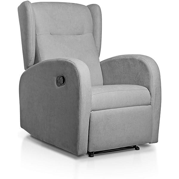 SuenosZzz - Sillon Relax reclinable Flux tapizado en Tela ...
