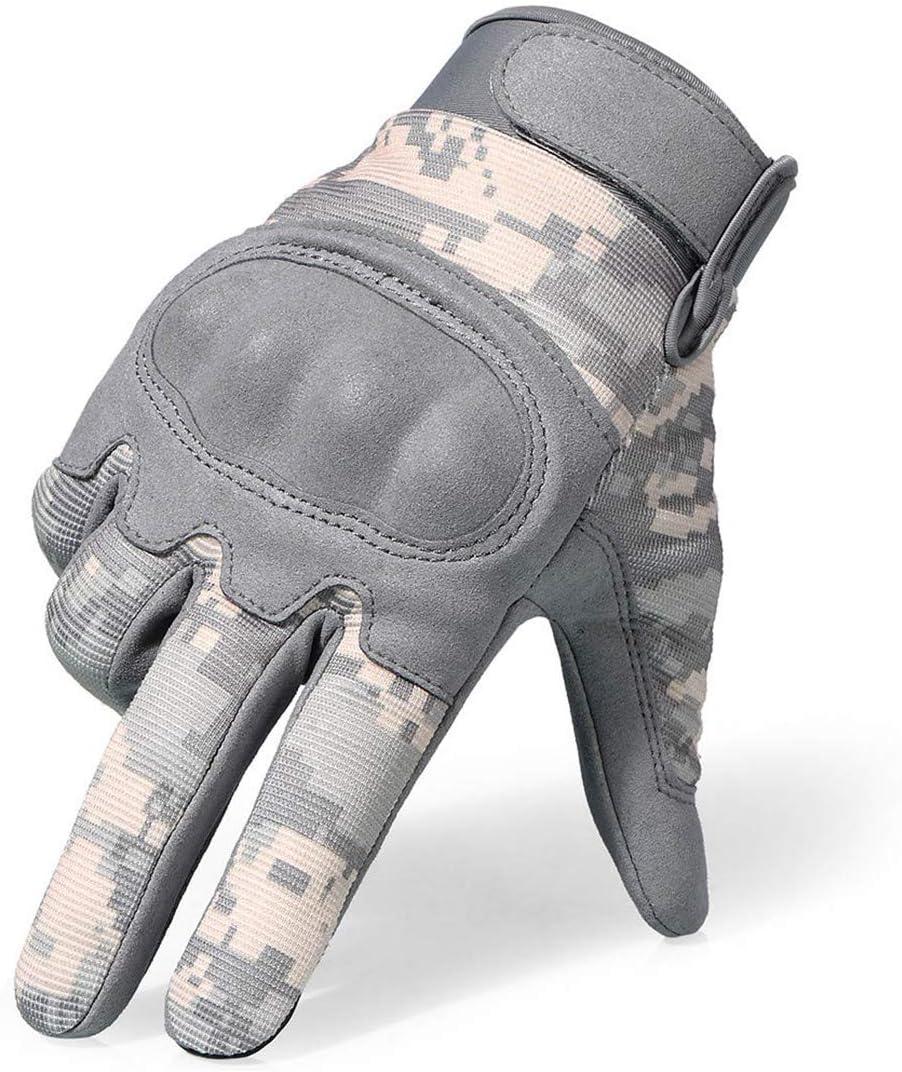 Touchscreen Handschuhe Camouflage Tactical Military Paintball Motorrad Motocross Touring Schutzausr/üstung Vollfingerhandschuh