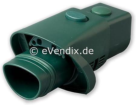 Adapter Ersatz für Vorwerk Wappenanschluss Rund Kobold VK 118 119 120 121 122