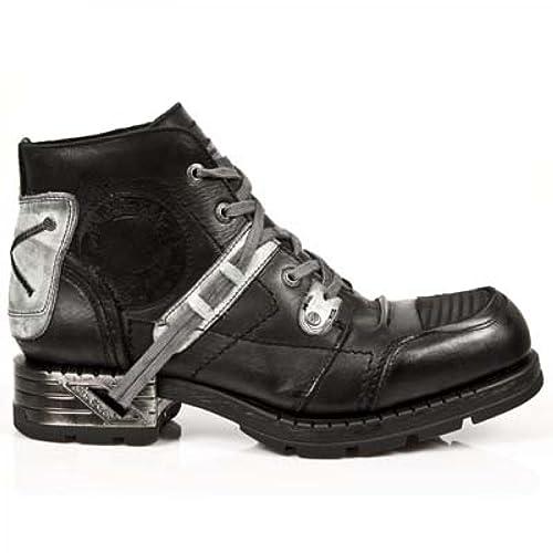 New Rock Black Leather M Mr015 C3 Custom Made Motorock