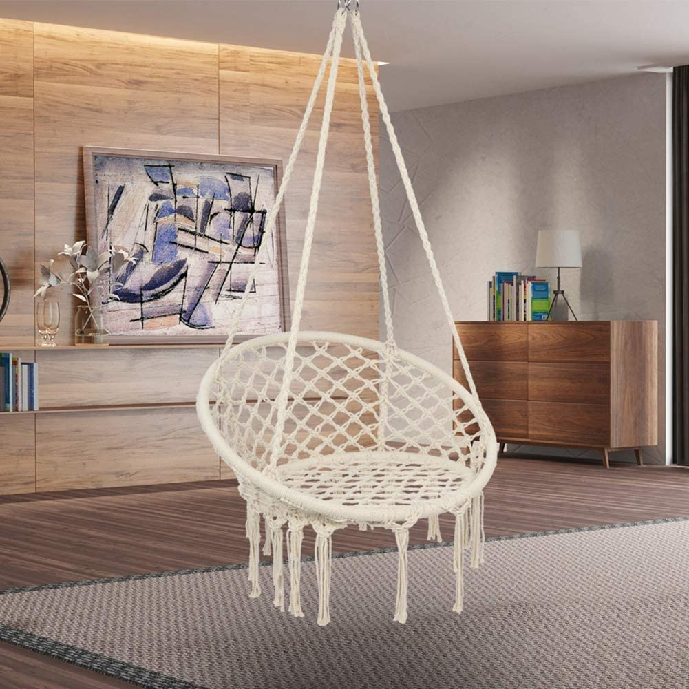 RAXTER Hanging Chair, Holds up to 120 kg, Scandinavian, for garden