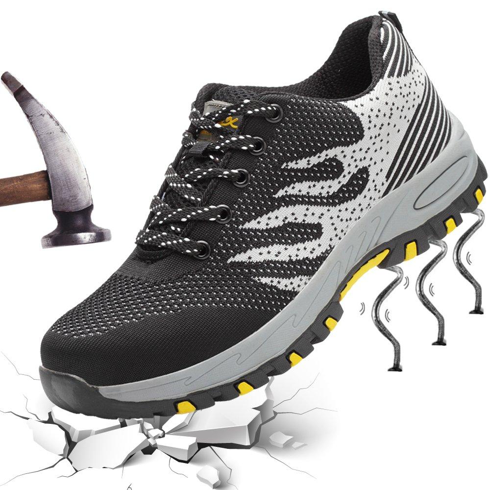 Work Safety Shoes Composite Steel Toe Shoes for Men Women Industrial & Construction Security Shoe Lightweight Slip Resistant Unisex