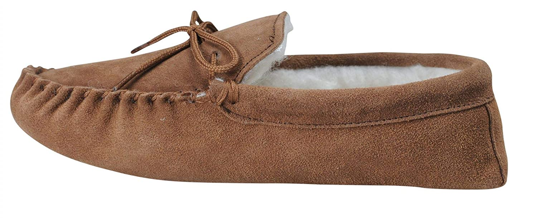 Zapatillas de Lana con Forro de Gamuza Suave para Hombre Nordvek Talla 423-100