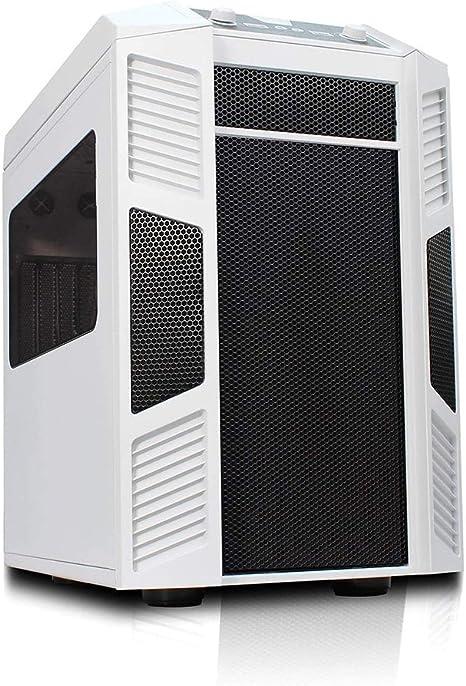 rexgear Mini-ITX y Micro ATX PC Cubo Casos Blanco: Amazon.es: Electrónica
