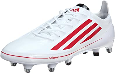 Adidas AdiZero RS7 Pro SG Rugby Boots WhiteRed size 10