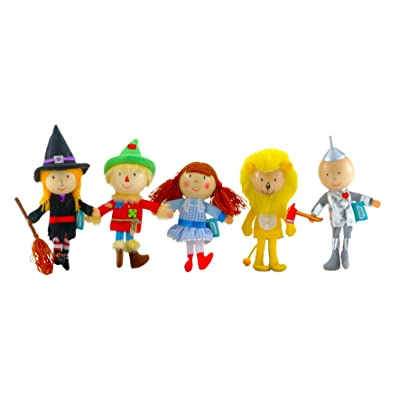 Fiesta Crafts Wizard of Oz Finger Puppet Set: Toys & Games [5Bkhe1007231]