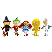 Tellatale T-2379 - Marionetas de dedo de El mago de Oz (5 unidades)