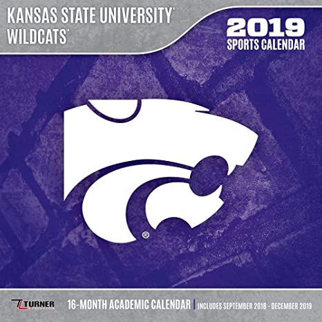 kansas state university wildcats 2019 calendar