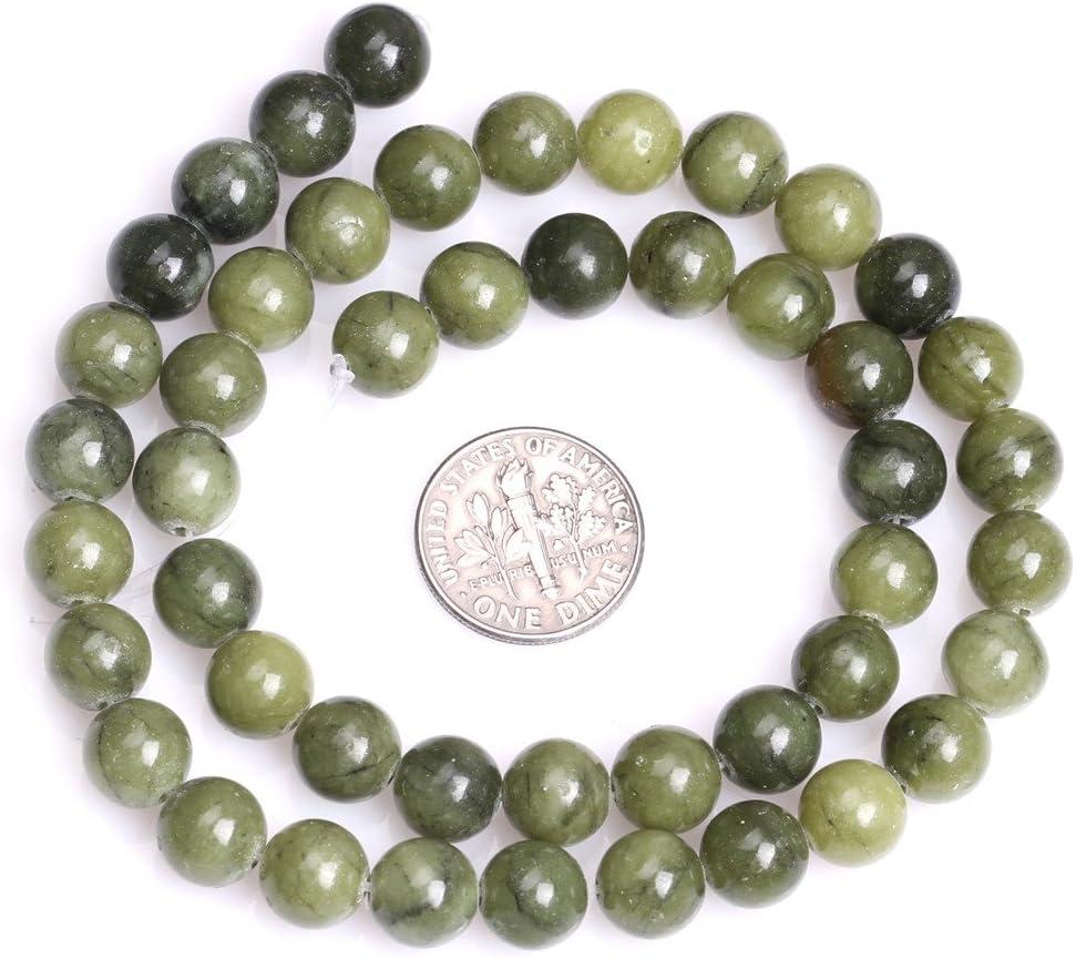 15 Strand High Quality Malachite UK Approx Round Beads Semi-Precious Gemstones 8mm Bead Size Jewellery Making Craft Supplies