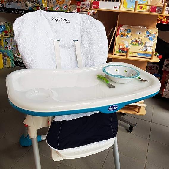 Kids Zona by Jane Sale universal de cochecito eilage Marino de blanco//100% algodón//utilizable por ambos lados 100% algodón