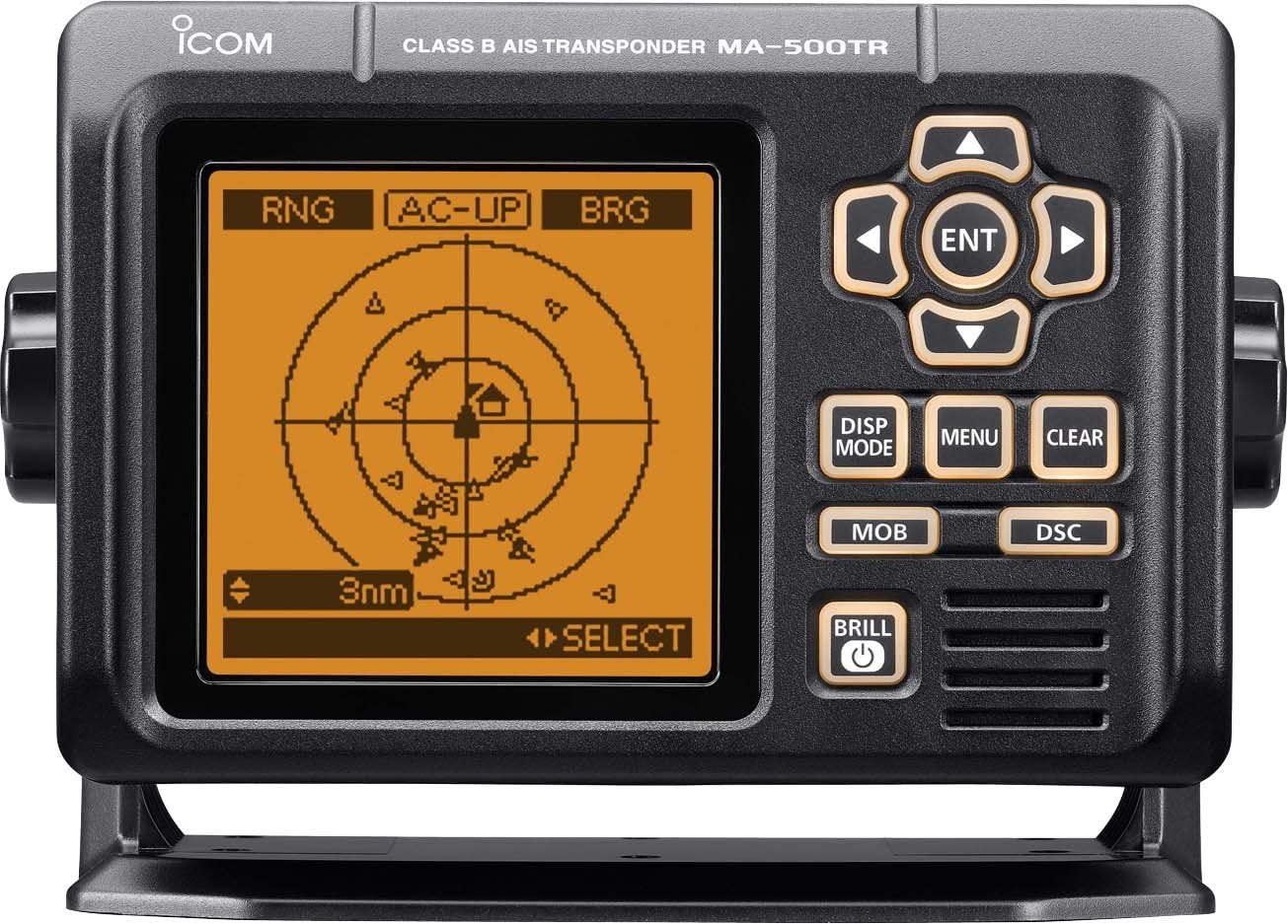 ICOM - Electrónica náutica (resistente al agua), color negro ...