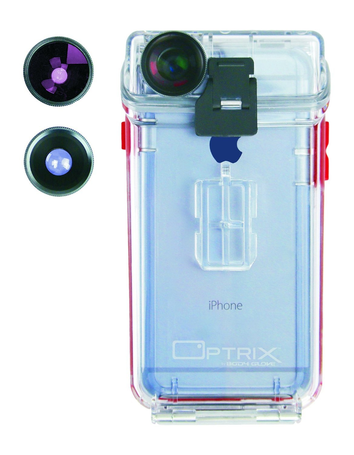 on sale cdcbe 1eee0 Optrix by Body Glove Waterproof Action Camera Case for iPhone 6/6s -  Standard