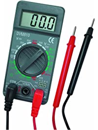 "VELLEMAN DVM810 Digit Mini Digital Multimeter, 19 Ranges, 10 Amp Max, 3-1/2"", 1.5"""