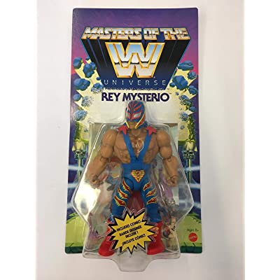 MOTU WWE Masters of The Universe Rey Mysterio: Toys & Games