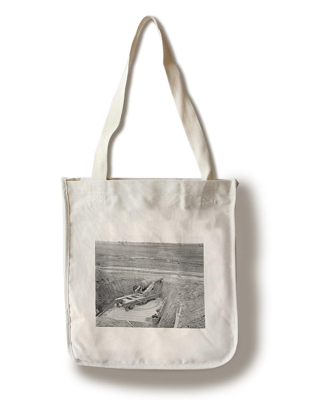James川、VA – ColumbiadガンAboveオランダギャップ運河Civil War写真 Canvas Tote Bag LANT-21117-TT B0188022YU  Canvas Tote Bag