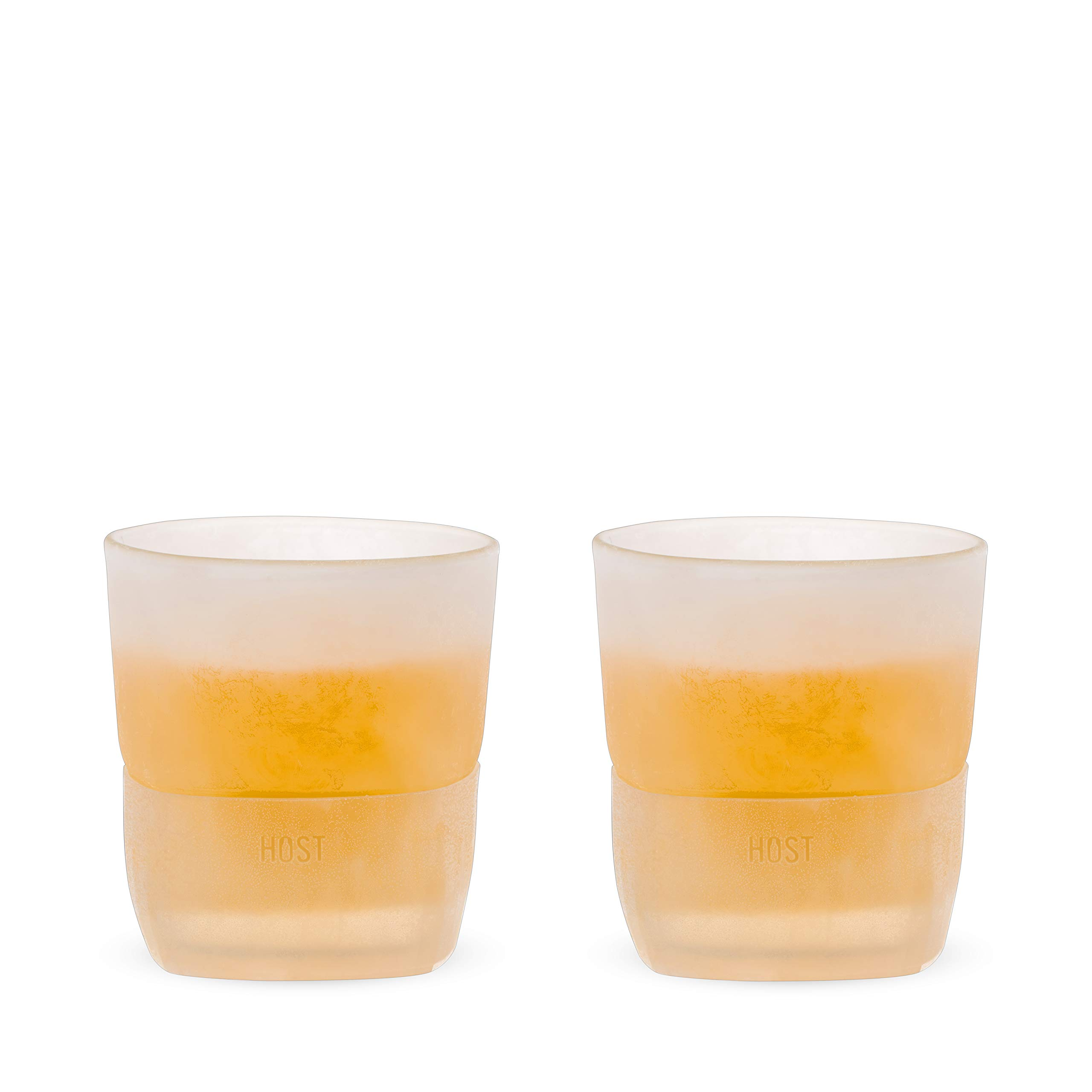 HOST 1744 Freeze Whiskey Glass, Set of 2, Clear by Host