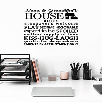 Amazoncom Bileso Wall Art Stickers Quotes And Sayings