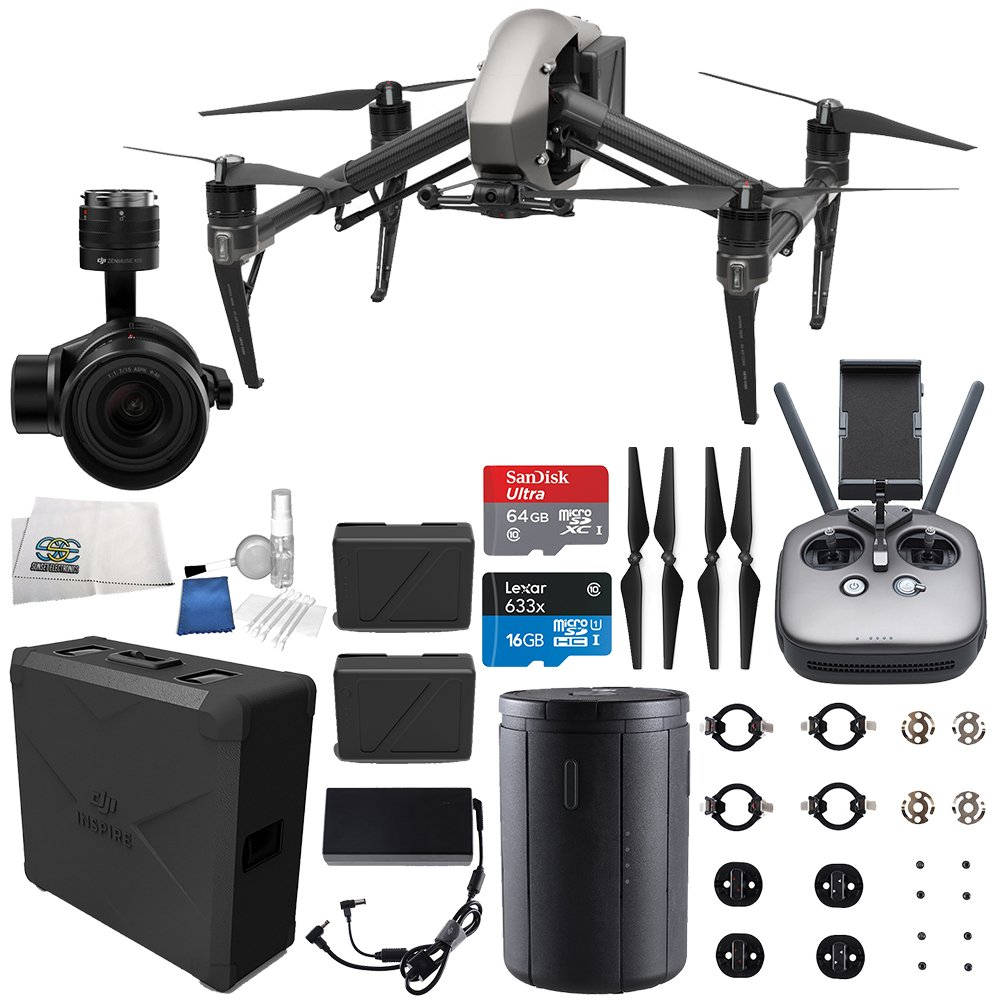 DJI Inspire 2 Quadcopter + Zenmuse X5S Starters Bundle