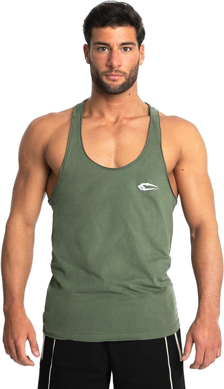 Herren Microfiber Bodybuilding Stringer Sport Tank Top Krafttraining Mens Sportshirt Tr/ägershirt T