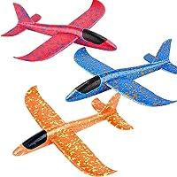 Bageek 3 Stuks Kinderen Werpvliegtuig Ingewikkelde Katapult Zweefvliegtuig Handglider Slagvast Katapult Speelgoed