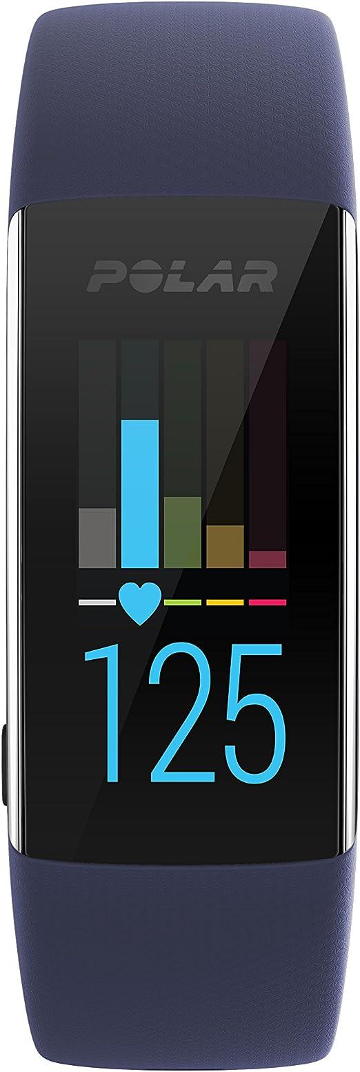 Polar A370 Reloj de fitness con GPS conectado y Frecuencia cardíaca en la muñeca. Actividad 24/7 - Azul, M/L