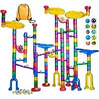 Meland 122-Piece Marble Maze STEM Building Toy