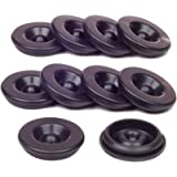 Kit King USA 10 Pack Grease Plugs Fits 1.98 Inch Hub Dust Cap Fits Most 2,000-3,500 Pound Axles Dexter 85-1 AL-KO Tiedown Eng Replacement EZ Lube Axle…